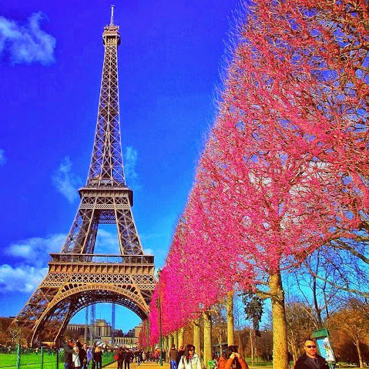 Eiffel Tower | beautiful places in the world