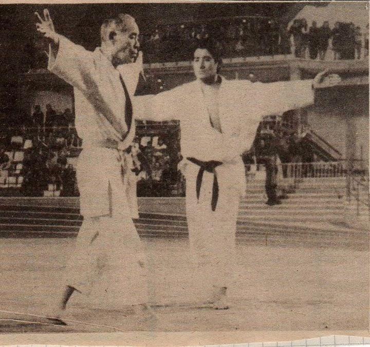 Tsuson Taira & Shu Taira - Itsutsu Kata - Palacio Deportes Oviedo 1975