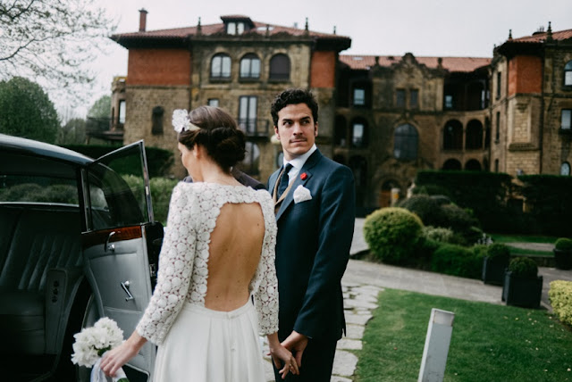 vestido novia espalda