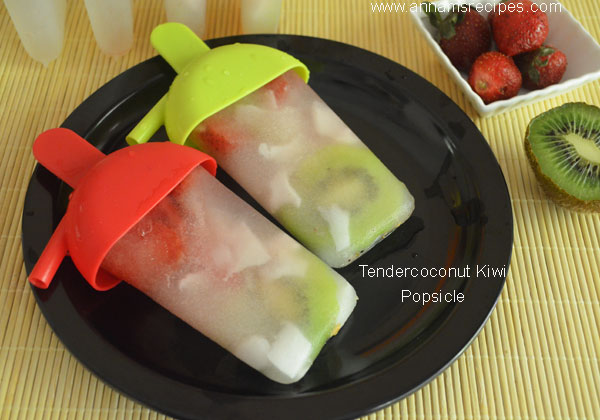 Tendercoconut Kiwi Popsicle