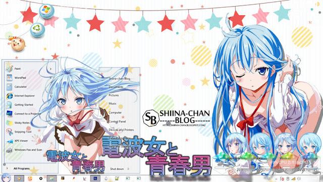 Denpa Onna to Seishun Otoko Theme Win 7 by Enji Riz Lazuardi
