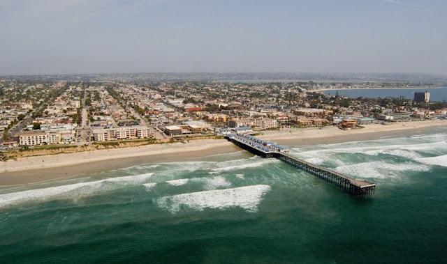 Pacific Beach na Califórnia