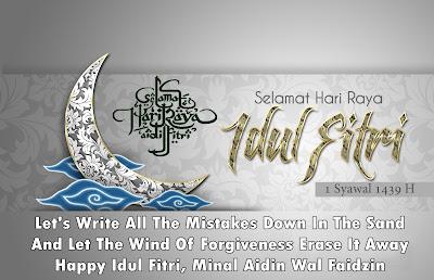 Kumpulan Ucapan Selamat Idul Fitri 1439 H Terbaru 2018