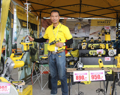 Stanley Tools Buriram Isaan Expo Open Day