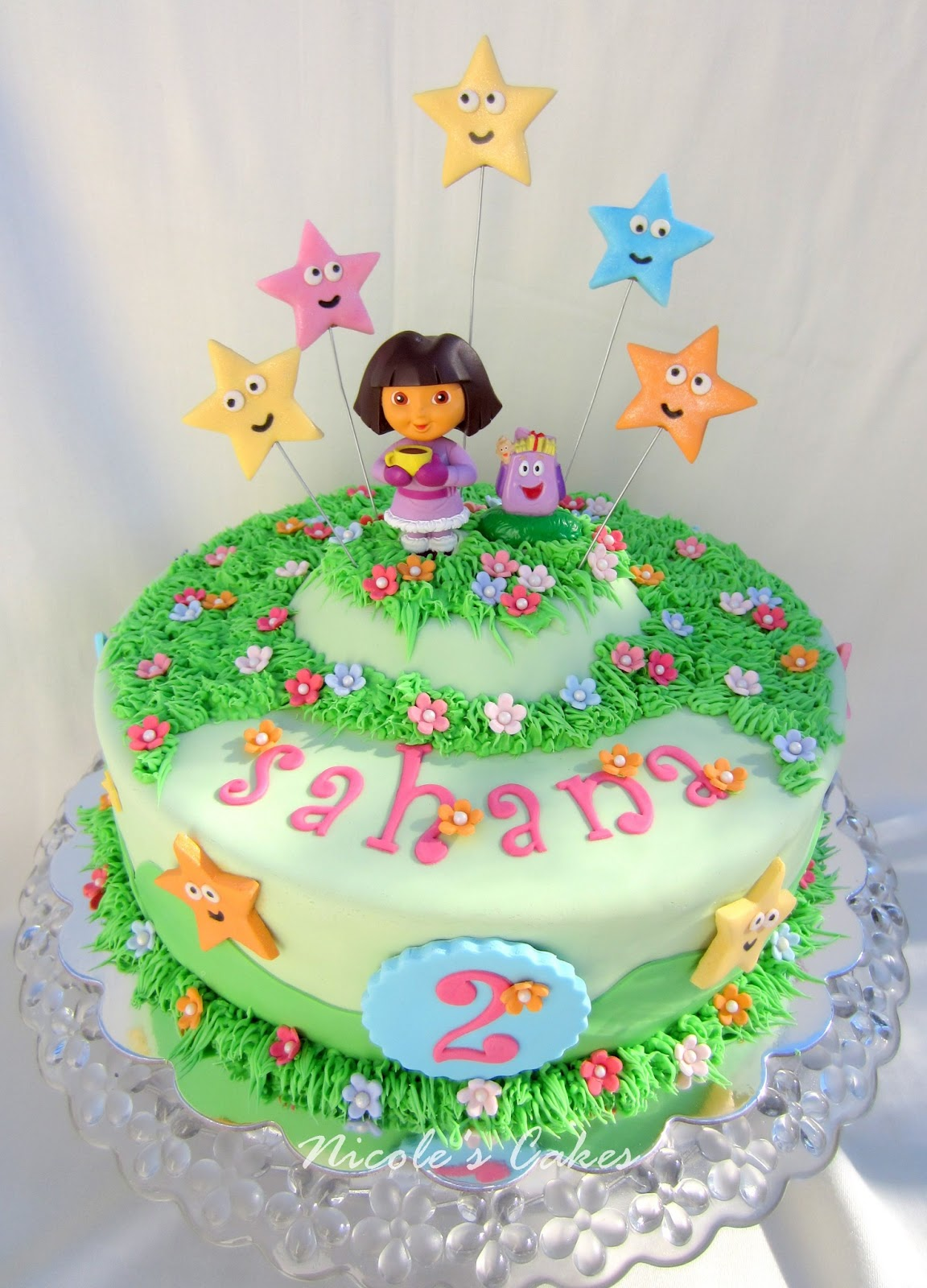 Confections Cakes Amp Creations Dora The Explorer