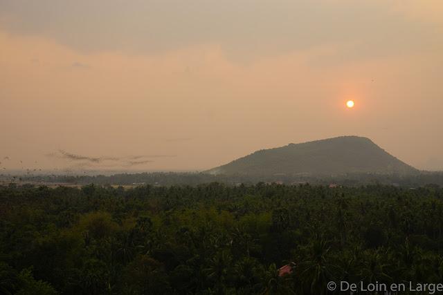 Rivière de chauves-souris - Campagne de Battambang - Cambodge
