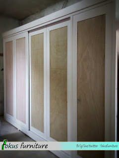 wardrobe di workshop Fokus furniture