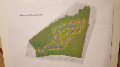 rendering of Pond St condo proposal from Town Council meeting in January 2016