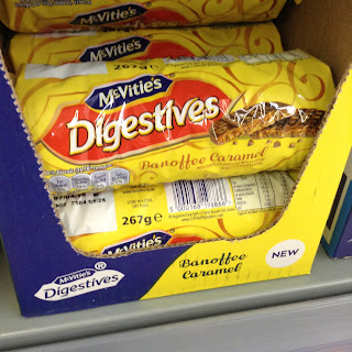 mcvities digestives banoffee caramel