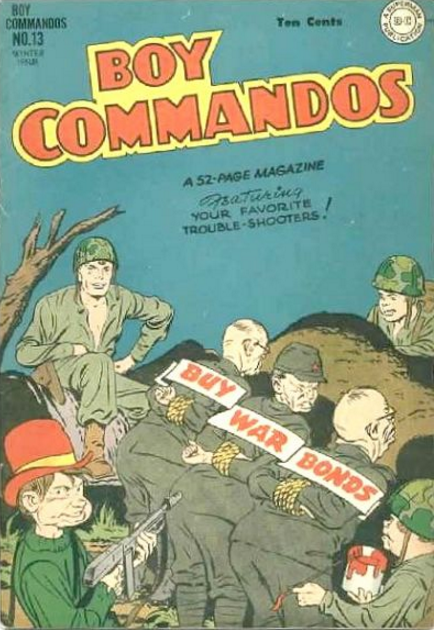 Simon-Kirby Boy Commandos