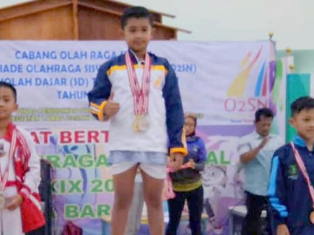 Alhauzan, Atlet  Senam Artistik Miliki Segudang Prestasi