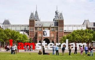 Rijkmuseum I amsterdam letters