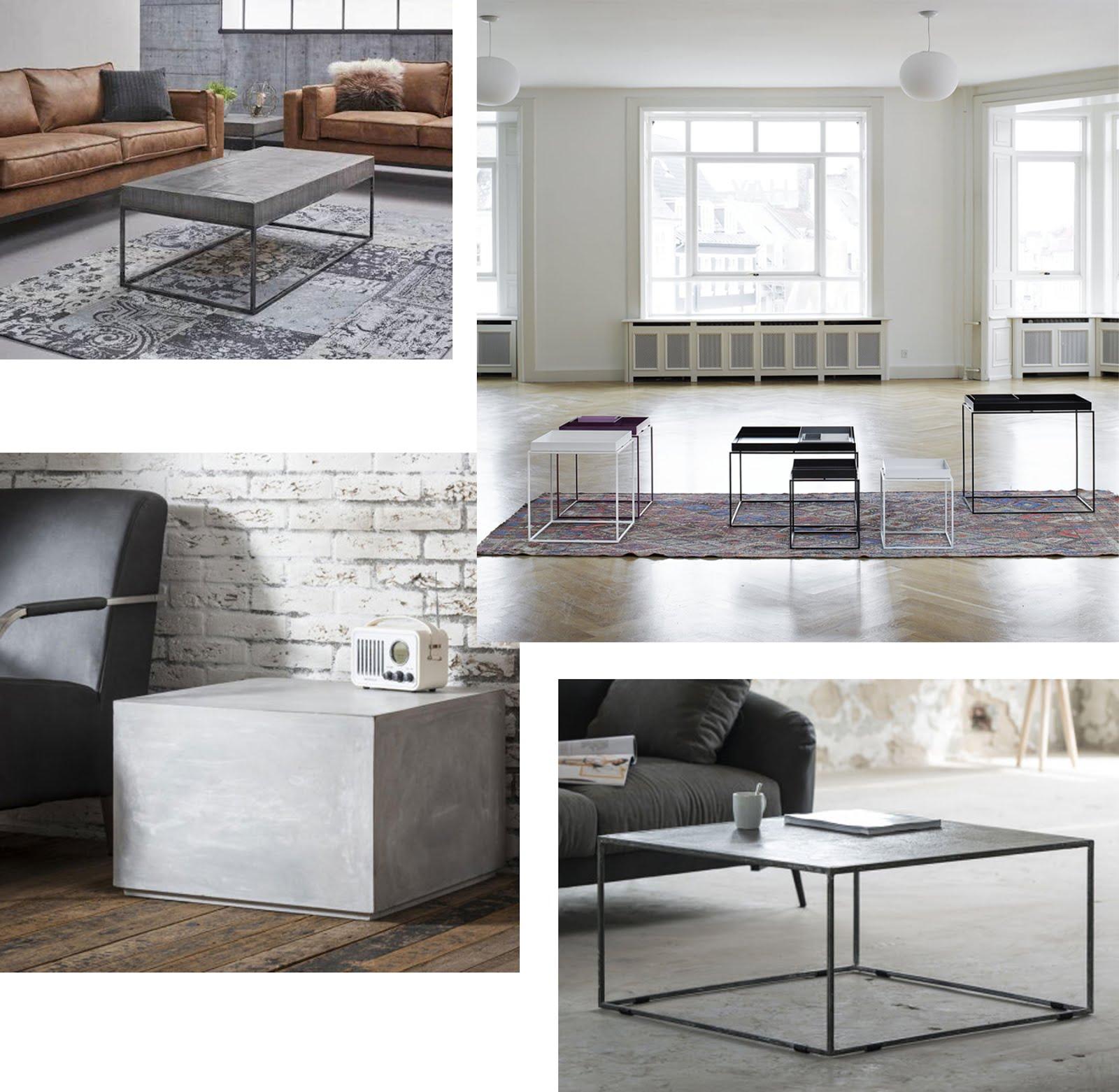 Lions home, interior webshop, interieur, salon tafel, minimalistisch, licht, coffee table, minimal, design, hay tray, concrete, betonlook