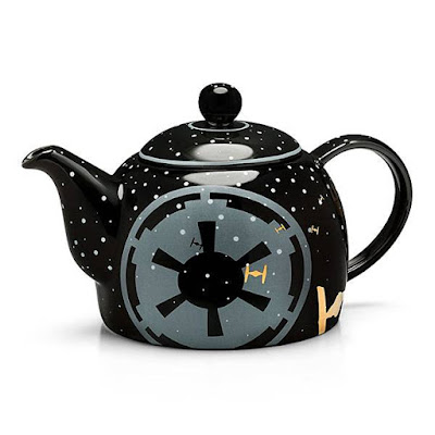 Starwars Black Empire Ceramic Teapot