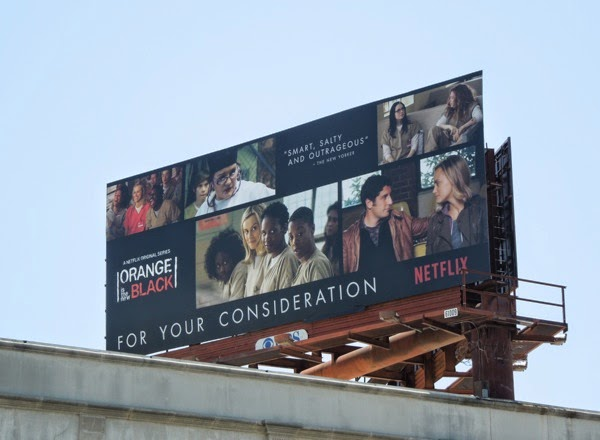 Orange is the New Black 2014 Emmy billboard