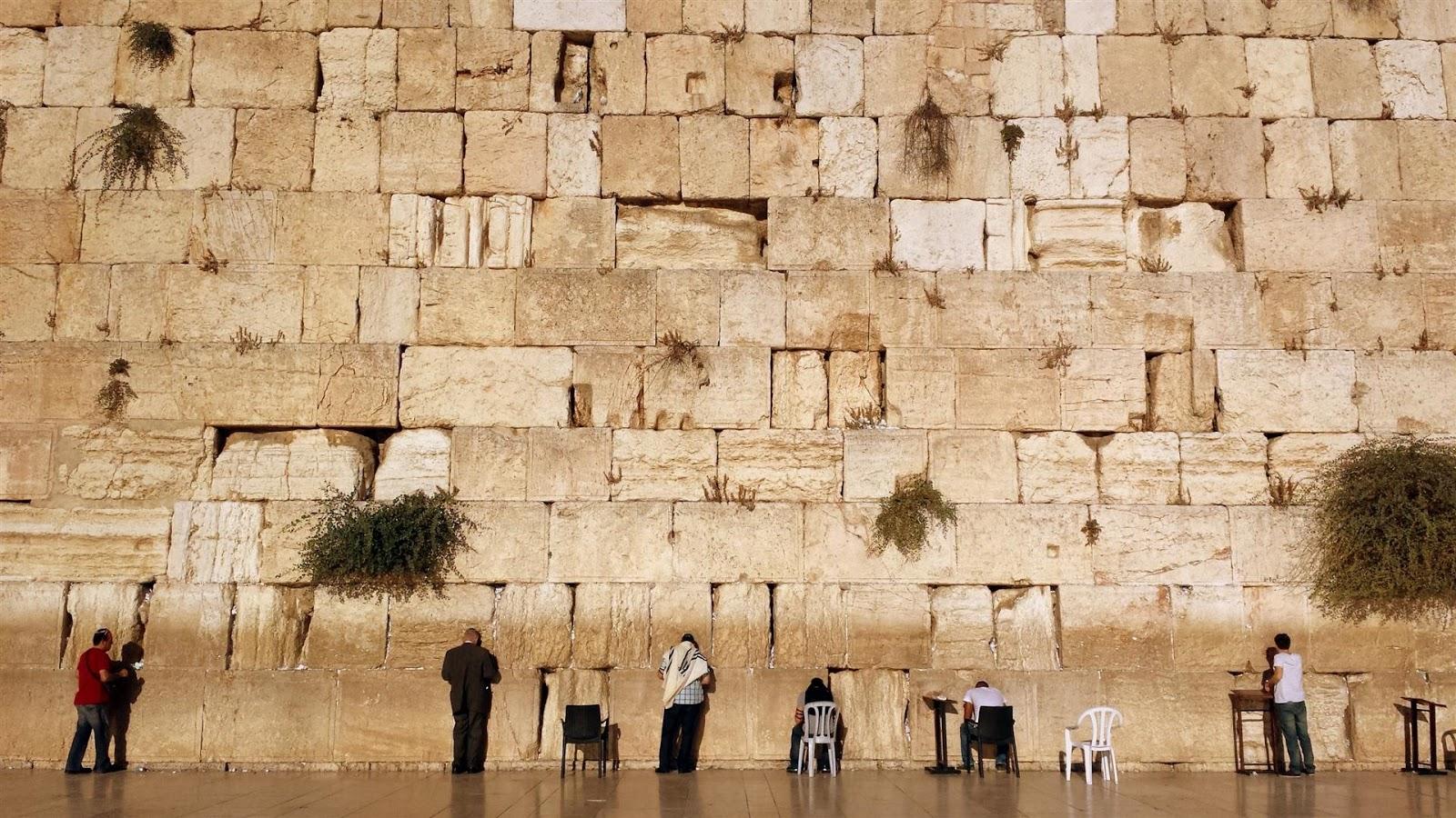 mother nature: Western Wall, Jerusalem