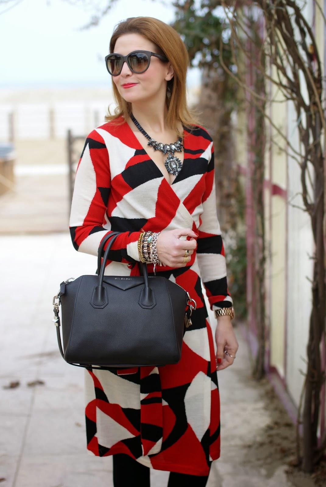 6ec18aa749 Diane Von Furstenberg wrap dress | Fashion and Cookies | Bloglovin'