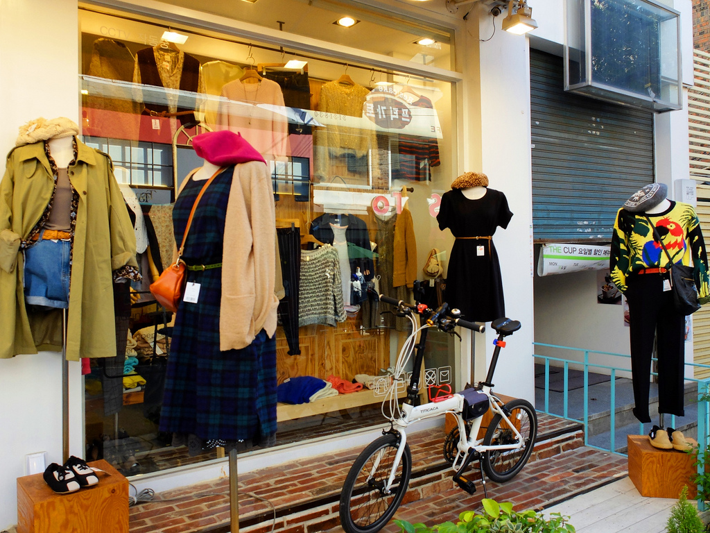 Ewha Woman's University Shopping Street - Why Seoul is a Perfect City to go for a Girl's Trip