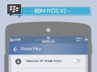 BBM Iyos Android V2.11.0.18 Apk Terbaru