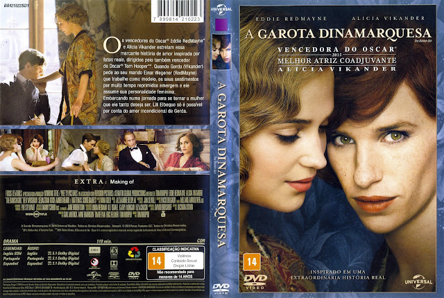 Capa DVD A Garota Dinamarquesa