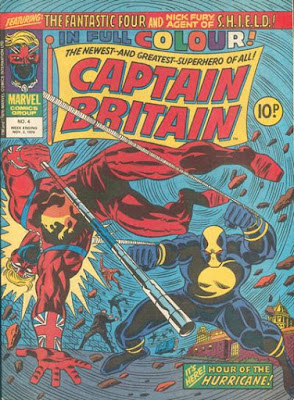 Marvel UK, Captain Britain #4, the Hurricane