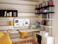 4 Desain Ruang Kerja di Rumah yang Tidak Butuh Banyak Tempat