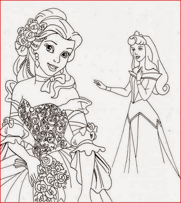 Coloring Pages: Belle coloring pages from Beauty and the ...Beauty And The Beast Coloring Page Beast