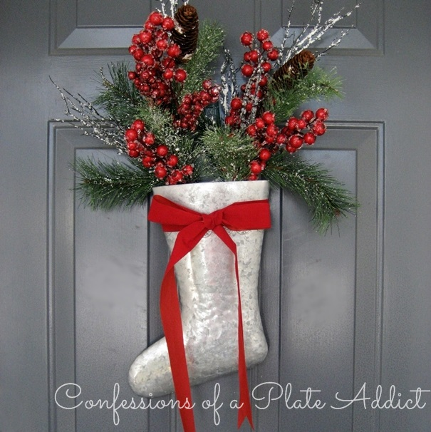 Bed Bath And Beyond Christmas Stockings.Confessions Of A Plate Addict Christmas On The Porch