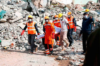 Gas explosion in wedding leaves 18 dead in Rajasthan India