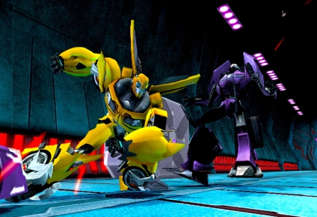 Screenshot of Transformers Prime DS