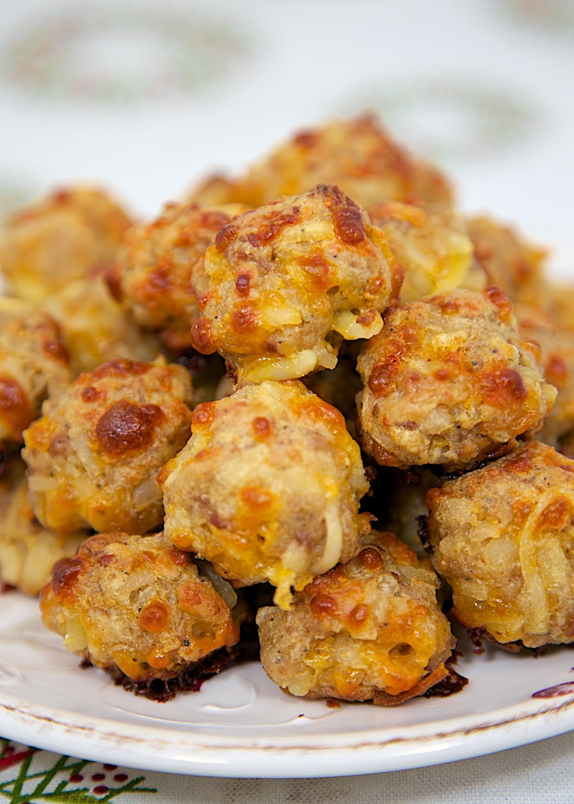 Sausage & Hash Brown Balls - mix together and freezer for a quick snack. Always a HUGE HIT! Can freeze for later. Great for breakfast or at parties. There are never any left!
