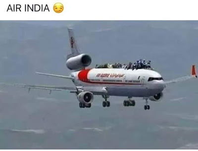 Funny Air India Picture