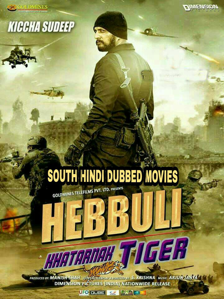 Hebbuli (2018) Hindi Dubbed 720p HDRip x264 1.2GB