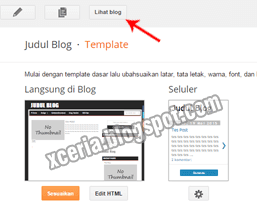 Cara Mengganti Template Blog - Lihat