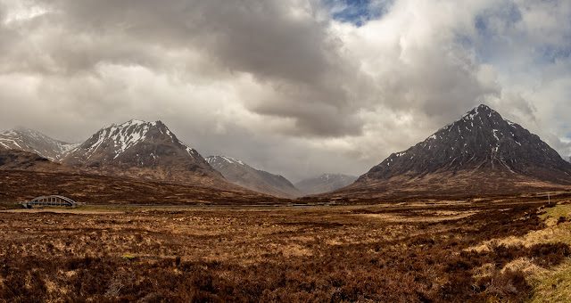 Photo of Stob a' Ghlais Choire and Buachaille Etive Mor in Glen Coe