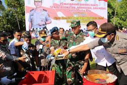 Danrem 162/WB : Sinergitas TNI Polri Dalam Operasi Lilin, Amankan Natal dan Tahun Baru