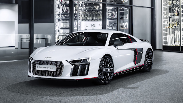 The Audi R8 selection 24h