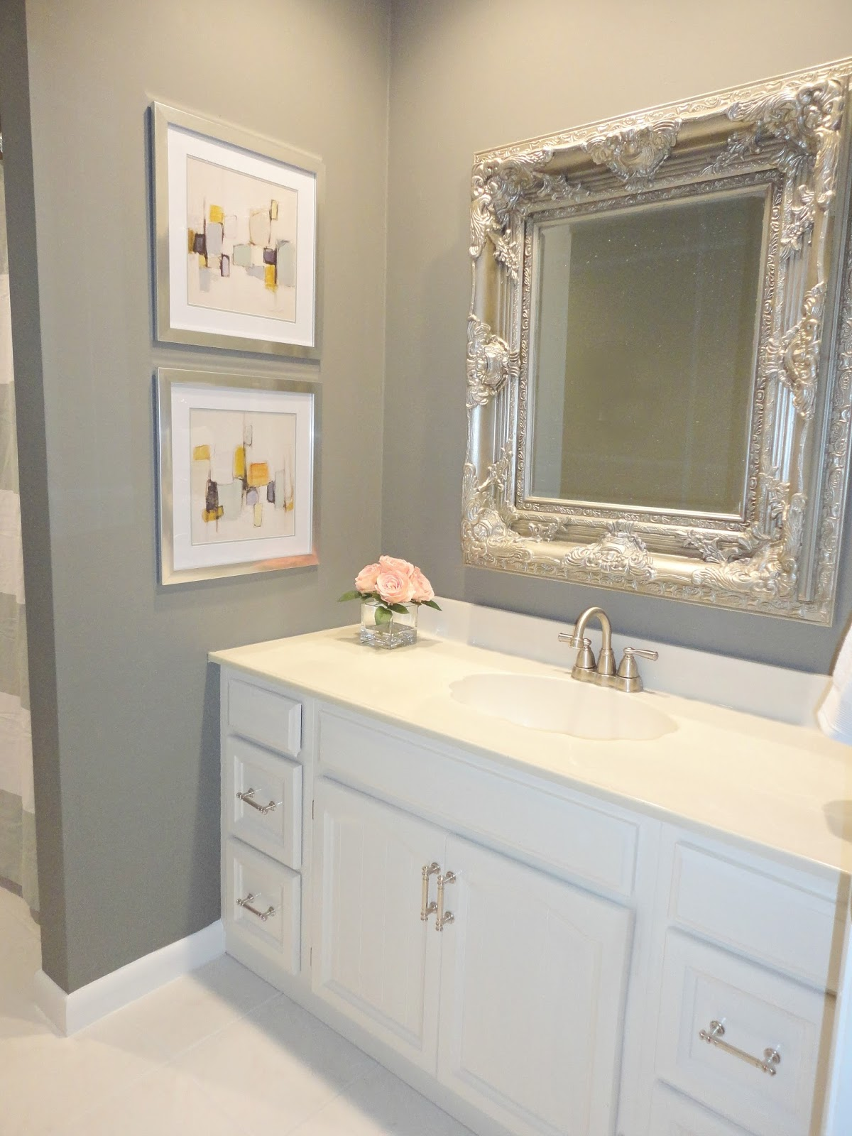 Bathroom Vanity Remodel livelovediy: diy bathroom remodel on a budget