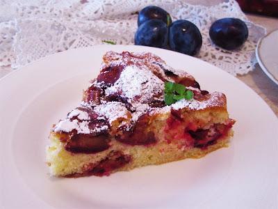 Kolač- torta sa šljivama / Plum cake