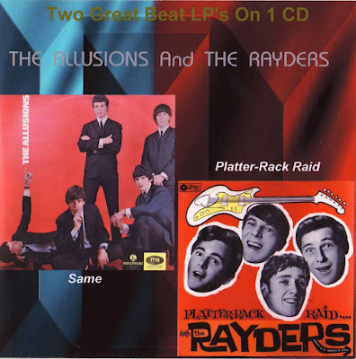The Allusions & The Rayders - Same (1967) & Rack Raid With The Rayders (1965)