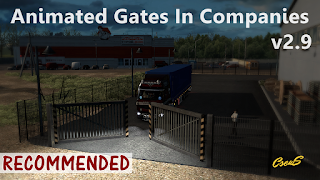ets 2 animated gates in companies v2.9