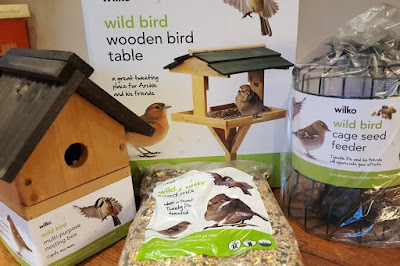 The Wilko Wild Bird Project - range of products