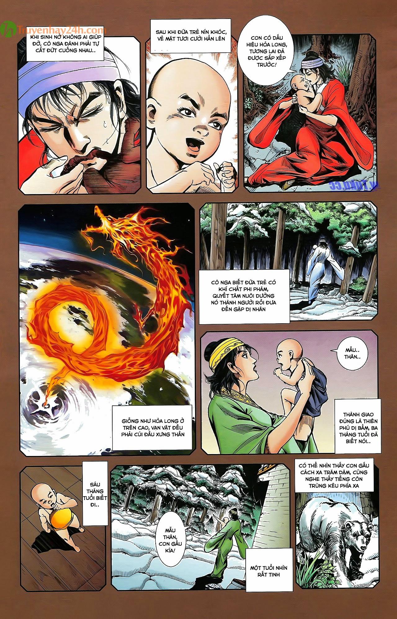 Tần Vương Doanh Chính chapter 30 trang 6