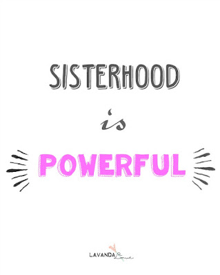 sisterhood is powerful lema para sisterhood world blogger award