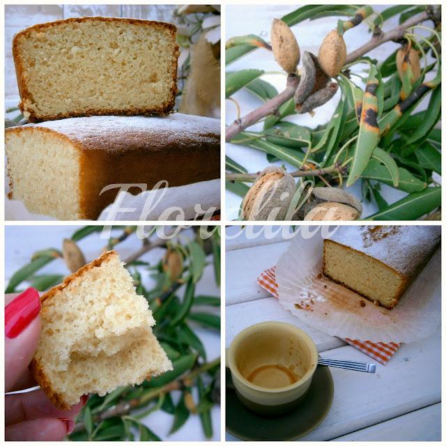 Florelila recetas y aficiones bizcocho de yogur y almendra for Tiempo bizcocho yogur