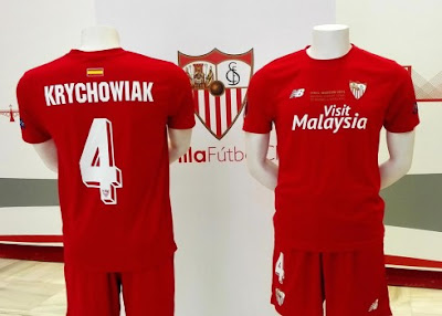 sevilla camiseta new balance final varsovia