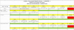 Jadwal Pelajaran Kurikulum 2013 SD Lengkap