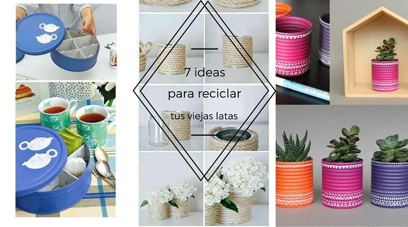 Hogar Diez 7 Ideas Para Reciclar Tus Viejas Latas - Ideas-para-el-reciclaje