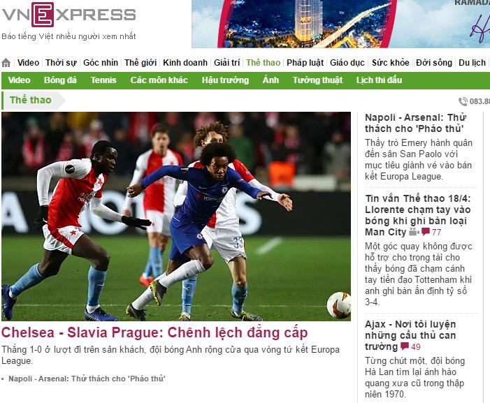 Top 10 trang web về bóng đá hàng đầu hiện nay
