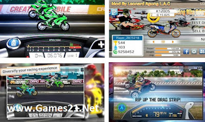 Screenshot Drag Racing - Bike Edition Mod Apk